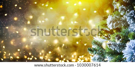 Christmas and New Year holiday background #1030007614