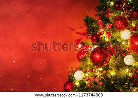 Christmas and New Year holidays background  - Shutterstock ID 1173744808
