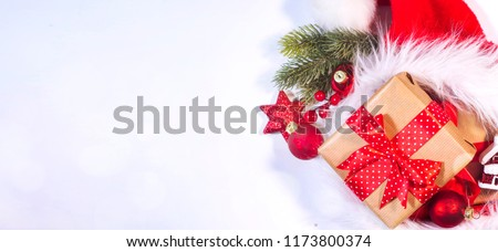 Christmas and New Year holidays background  #1173800374