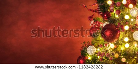 Christmas and New Year holidays background  - Shutterstock ID 1182426262