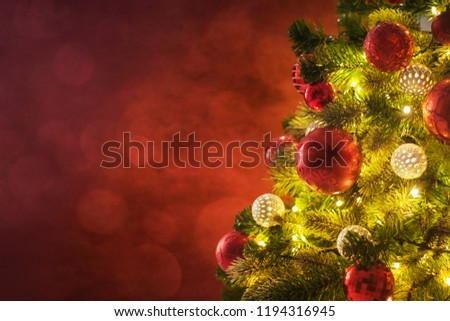 Christmas and New Year holidays background  - Shutterstock ID 1194316945
