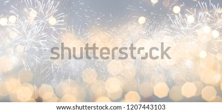 Christmas and New Year holidays background  #1207443103