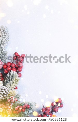 Christmas and New Year holidays background #750386128