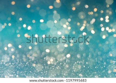 Christmas and New Year holidays blurred background, abstract background with bokeh defocused lights and shadow #1197995683