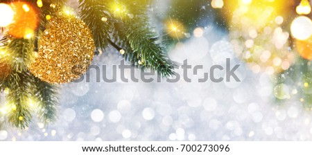 Christmas and New Year s holiday background with copy space #700273096