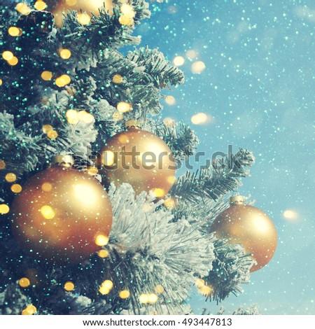 Christmas background  - Shutterstock ID 493447813