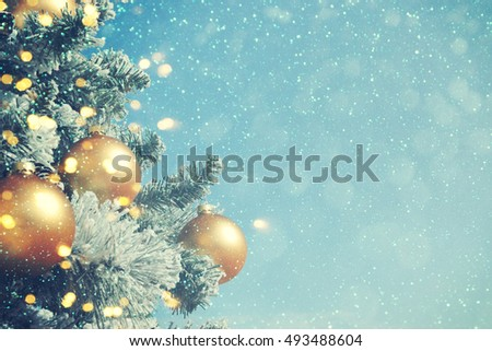 Christmas background  - Shutterstock ID 493488604