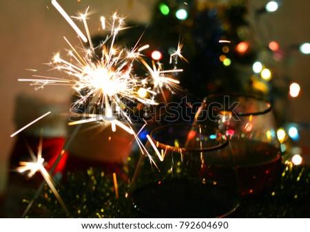 christmas background bengal light #792604690