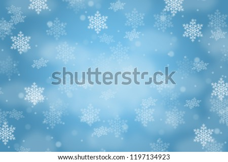 Christmas background card pattern decoration snow snowflakes copyspace copy space snowing