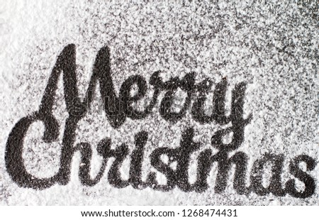 Christmas background for greeting cards or happy new year greetings on a white background. #1268474431