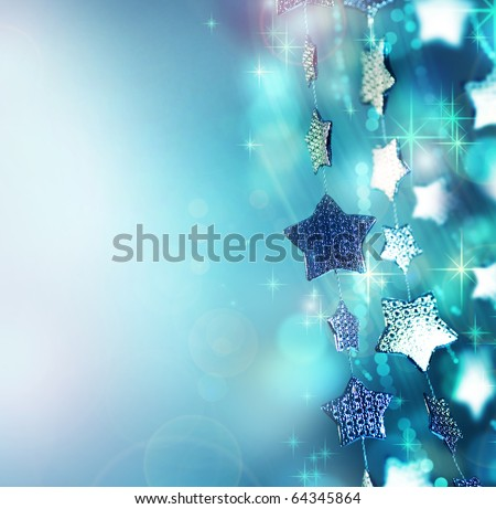 Christmas background.Holiday abstract background