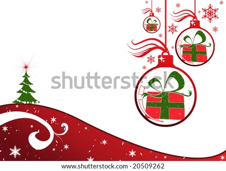 christmas background new Foto stock ©