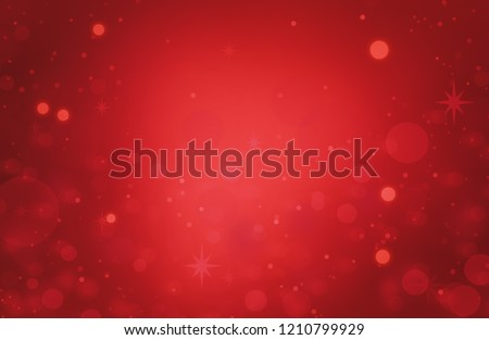 Christmas Background Red Abstract. Happy Holiday Christmas.