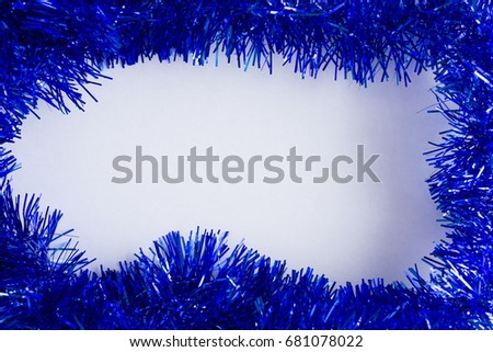 Christmas background with Christmas decorations. Christmas time. #681078022