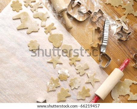 Christmas Baking - stock photo