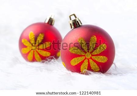 Christmas ball - stock photo