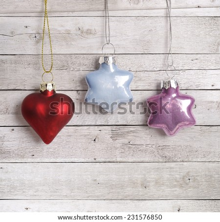 Stock Photo Christmas balls
