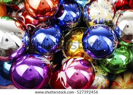 christmas balls extra shiny vintage real glass christmas ball ornaments illustrate your project with - Glass Christmas Balls
