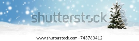 christmas banner panorama background #743763412