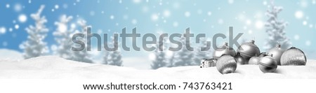 christmas banner panorama background #743763421