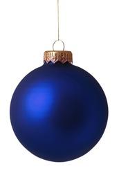 Christmas bauble isolated on white background