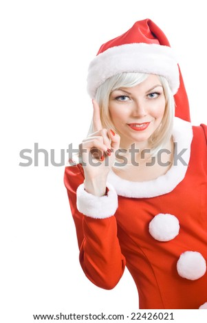 Christmas beauty Santa Claus