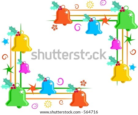 clip art borders and corners. bells page corner borders