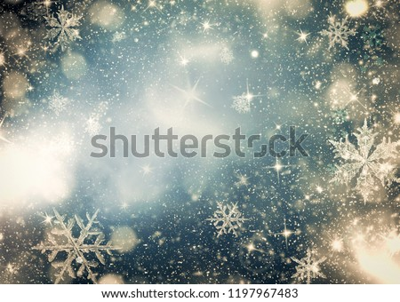christmas bokeh background #1197967483