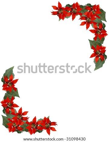 Christmas Corner Borders Clip Art