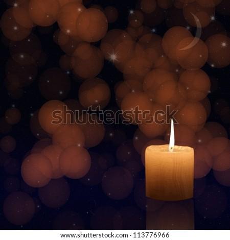 Christmas candle #113776966