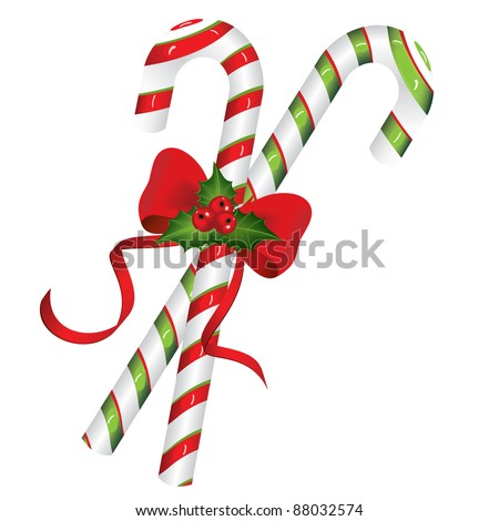 Christmas candy cane. Christmas background