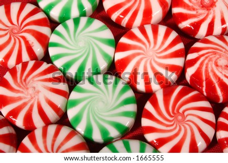 Christmas Candy top perspective