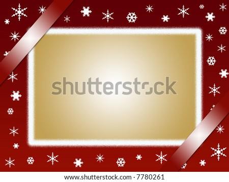 Christmas Card And Photo Frame