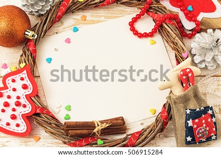 Christmas card. Christmas background #506915284