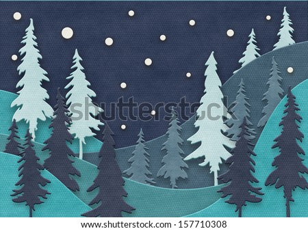 Paper Cutting Design Templates Paper Cut Christmas Design