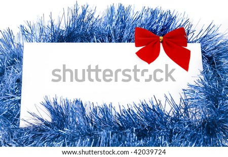 Christmas Card with CopySpace for your text