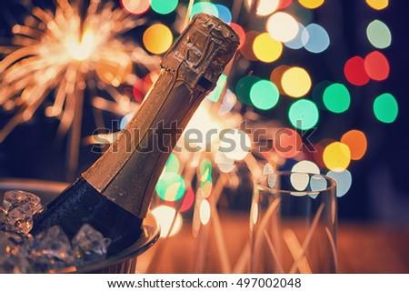Christmas Champagne #497002048