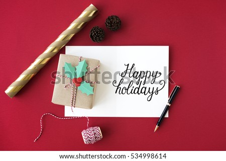 Christmas Cheers Celebration Party Xmas Concept #534998614