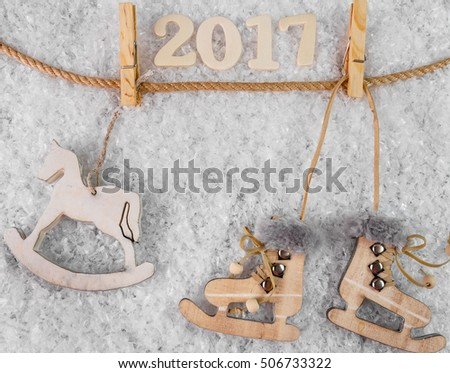 Christmas. Christmas Decoration Holiday Decorations. Xmas card and gift. Winter holidays theme. #506733322