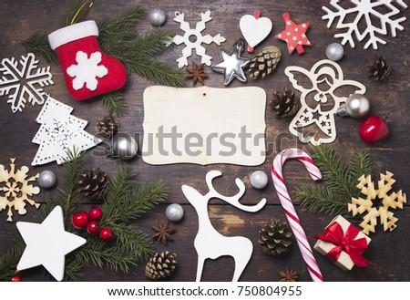 Christmas. Christmas decorations #750804955