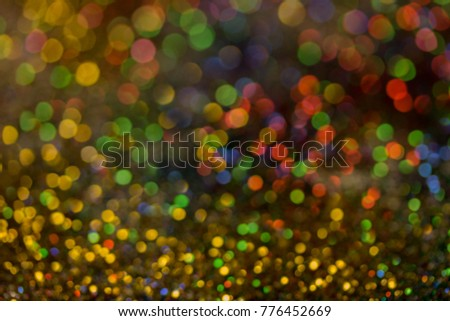 Christmas colorful and glowing glowing lights #776452669