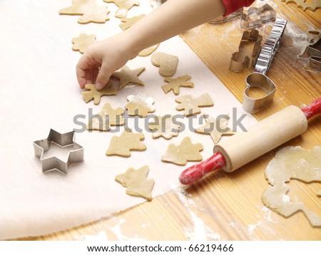 Christmas Cookie Baking