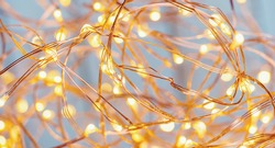 christmas Copper Wire String LED Lights