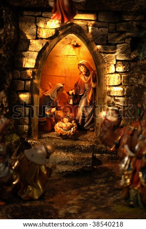 Christmas Crib in Austria