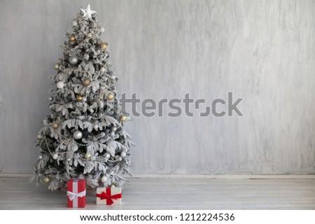 Christmas Decor Christmas tree with gifts z #1212224536