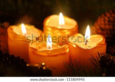 Christmas decoration ,Advent - stock photo