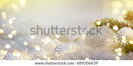 Christmas decoration and lighting