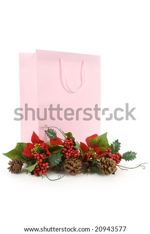 Christmas Decoration and Shopping Bag