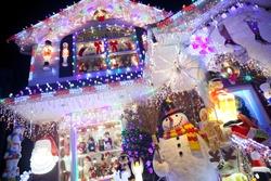 Christmas decoration at Christmas and holiday season