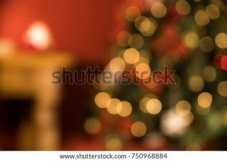 christmas decoration. Christmas Blurry background